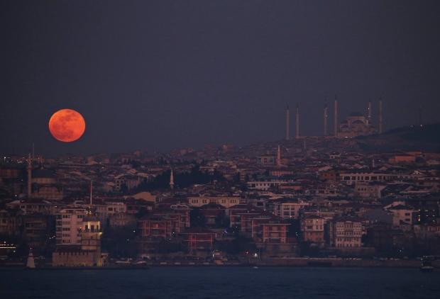 Turkey Lunar eclipse