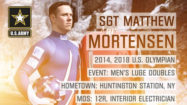 2018 Olympian Card-SGT MORTENSEN Sized