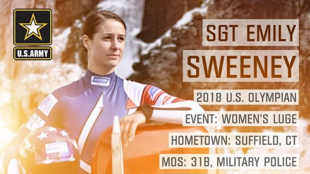 2018 Olympian Card-SGT SWEENEY Sized