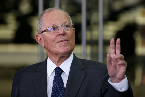 Kuczynski Shown In A File Photo From Mid January Narrowly Avoided Impeachment December 2017 For Failing To Disclose Decade Old Payments