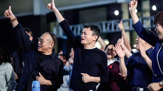 Founder and Chairman of Alibaba Group Jack Ma present at the 'Ma Yun Rural Teachers Prize' awards show on January 22, 2018 in Sanya , Hainan province, China.