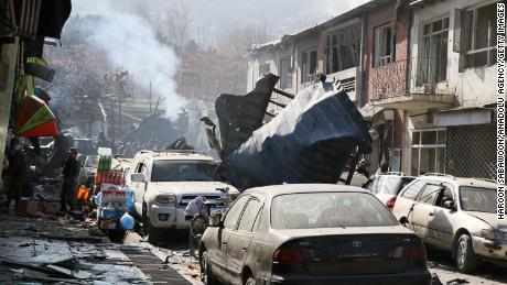 Afghanistan mourns after ambulance bomb kills more than 100