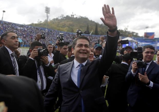 HONDURAS-INAUGURATION/HERNANDEZ