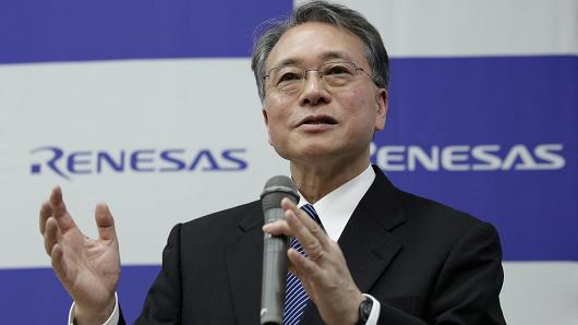 Bunsei Kure, president and chief executive officer of Renesas Electronics Corp.