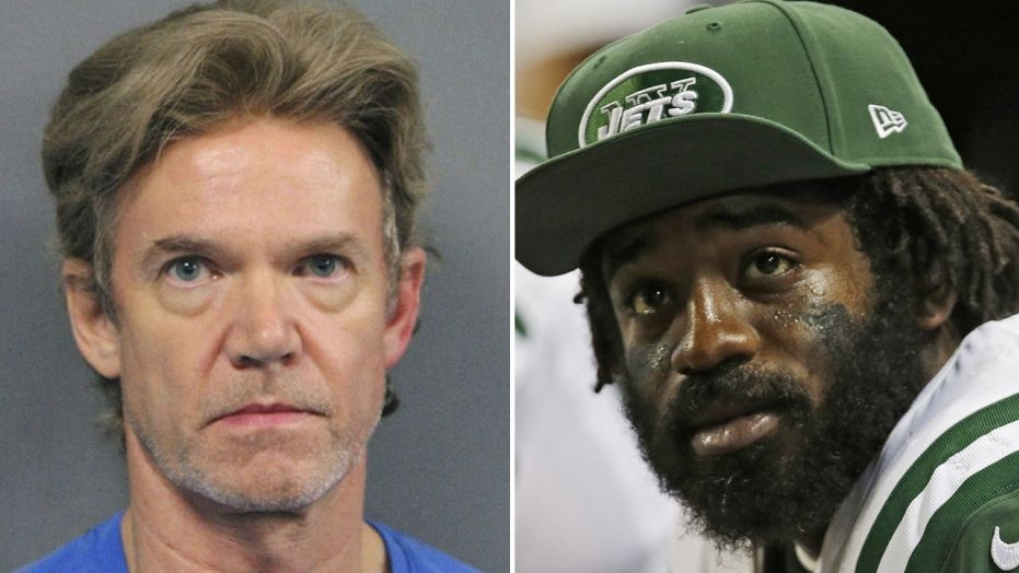 Ronald Gasser, left, was found guilty of manslaughter Friday in the death of ex-NFL player Joe McKnight, right.