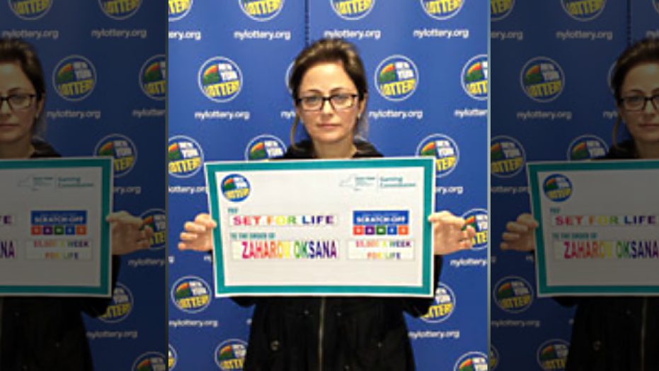 Oksana Zaharov won $5 million in a scratch-off ticket she did not mean to purchase.