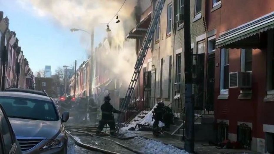 The fire on North Colorado Street in North Philadelphia killed two people, including a veteran fire lieutenant.