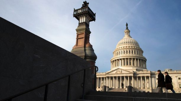 The Capitol is seen in Washington, Jan. 3, 2018.  Lawmakers in both major parties are confronted with a consequential week that includes shutdown brinksmanship linked to politically freighted negotiations over immigration.  (AP Photo/J. Scott Applewhite)