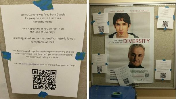 James Damore posters