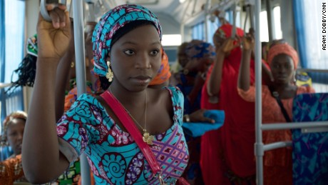 Freed Chibok girls return home for joyful Christmas