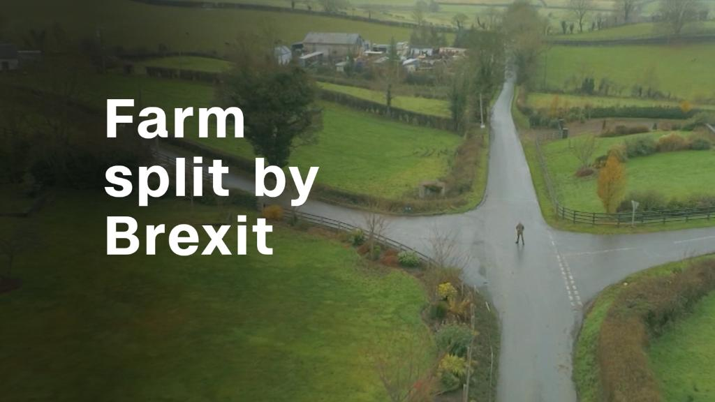 This farm might be split in two by Brexit