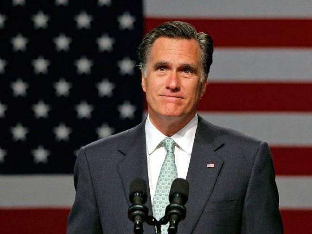 Mitt Romney, pictured May 8, 2012, said Donald Trump
