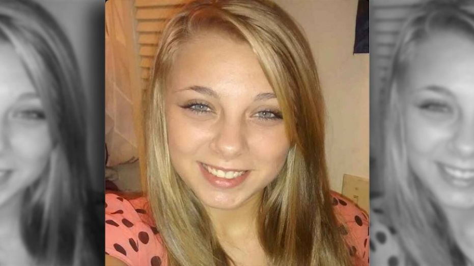 Kaylee Muthart, 20, is blind after she gouged her eyes out while hallucinating earlier this month.