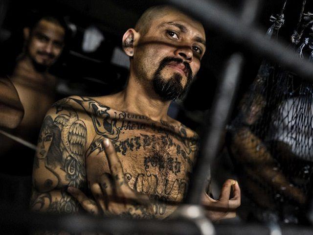 MS-13 Gang Member in El Salvador - GETTY IMAGES Jan Sochor