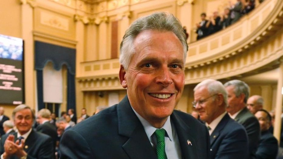 Former Virginia Gov. Terry McAuliffe suggested he could run against President Trump for president in 2020.