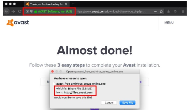 avast website