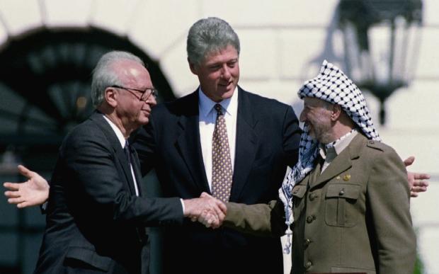Rabin-Arafat-Clinton