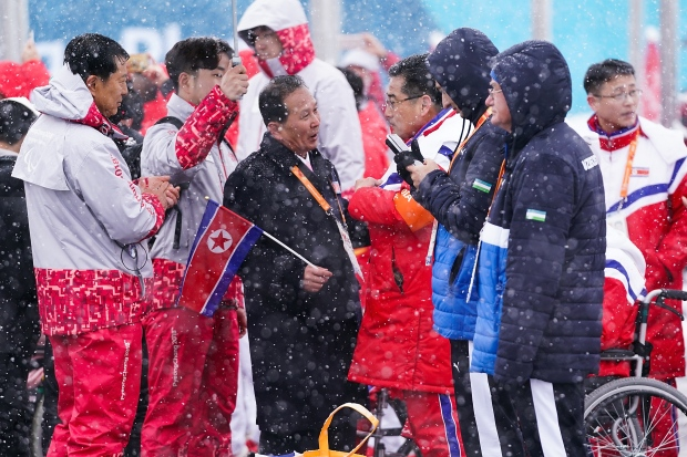 North Korea South Korea Paralympics Separate