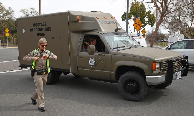 APTOPIX Veterans Home Shooting
