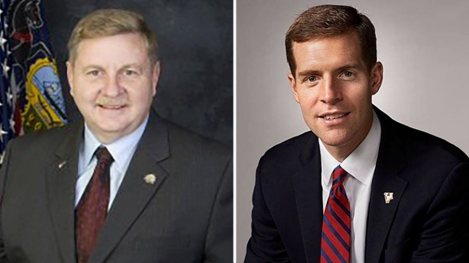 State Rep. Rick Saccone (left) faces former attorney Conor Lamb (right) in a special House election for Pennsylvania's 18th congressional district.