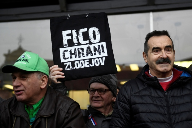 SLOVAKIA-CRIME/PROTEST