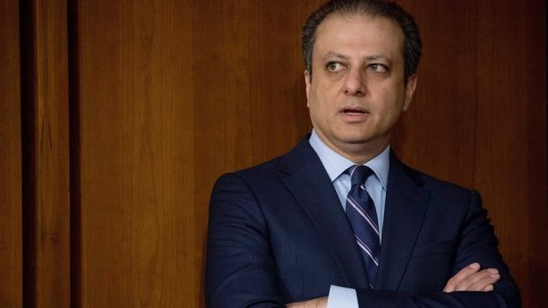FILE - In this  June 8, 2017, file photo, former United States Attorney for the Southern District of New York Preet Bharara arrives before former FBI director James Comey testifies at a Senate Intelligence Committee hearing on Capitol Hill in Washington. Bharara told USA Today for an article published on Sept. 18, 2017, that he is launching a new podcast called