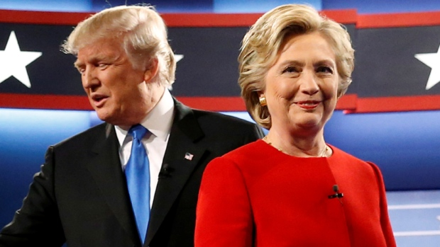 Donald Trump and Hillary Clinton - U.S. Election