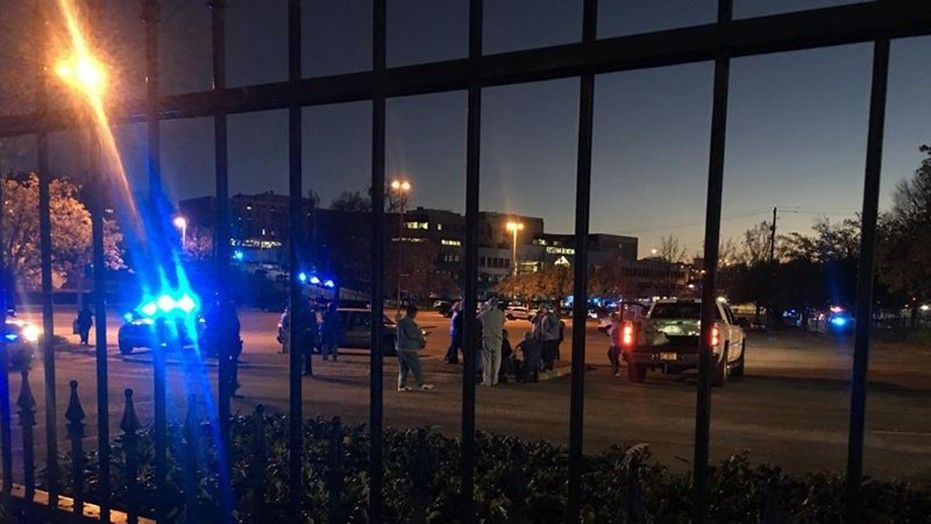 Police in Alabama said a gunman opened fire at the UAB Highlands hospital in Birmingham on Wednesday night, leaving two employees wounded.