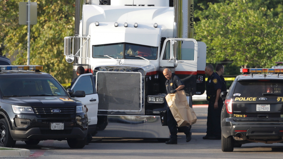 The 47-year-old operator of an immigrant stash house in Laredo, Texas, has pleaded guilty in the case of a deadly smuggling run last July that left 10 illegal immigrants dead or dying in a semitrailer in San Antonio. Pedro Silva Segura faces up to life in prison and will be sentenced June 29. (Eric Gay/AP)