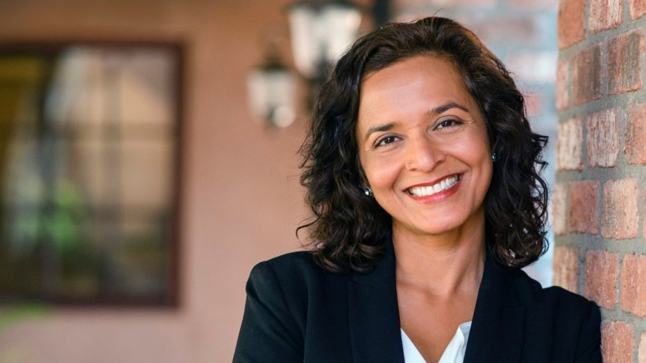 Hiral Tipirneni, a Democrat, is running in Arizona's special House election. She is a cancer research advocate and former emergency room physician.
