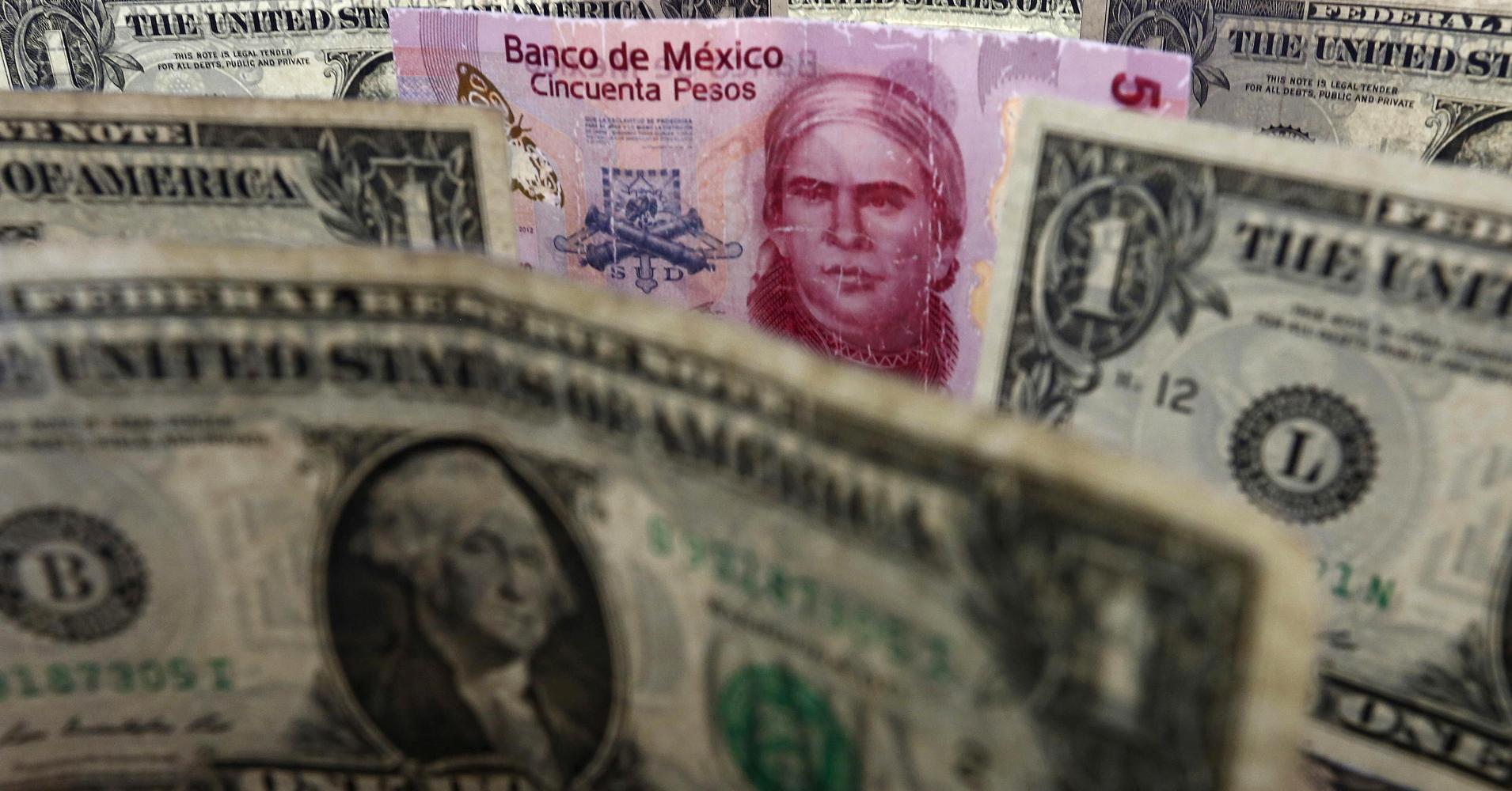 Mexican Peso Strengthens Against Us Dollar After Trump Sch